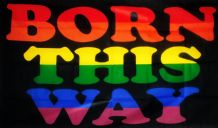 BORN THIS WAY - 5 X 3 FLAG